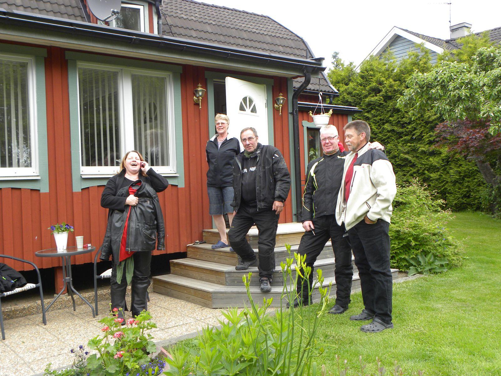 Kicki, Irene, Bertil, Leif och Lennart